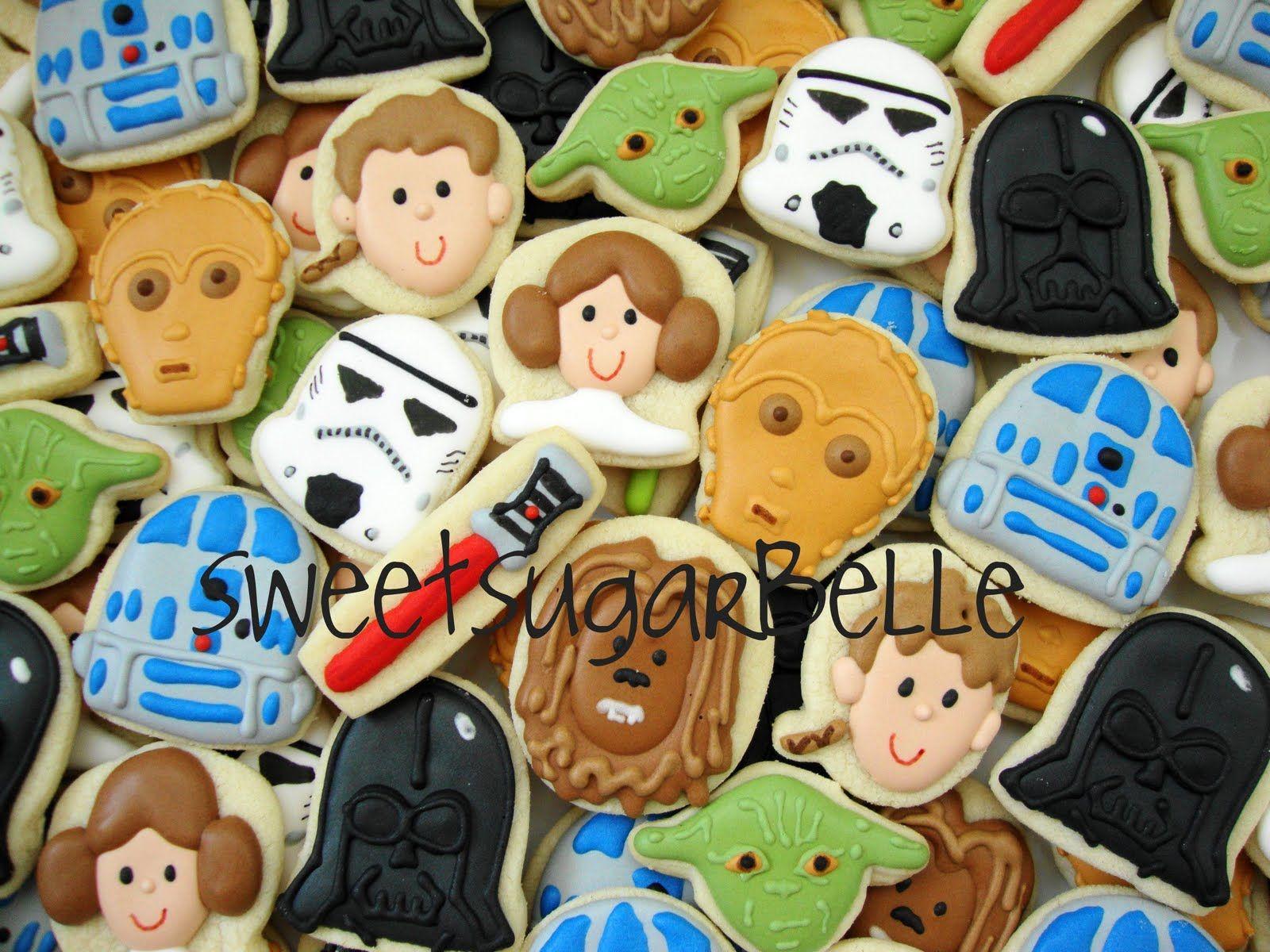 Star Wars cookies <3