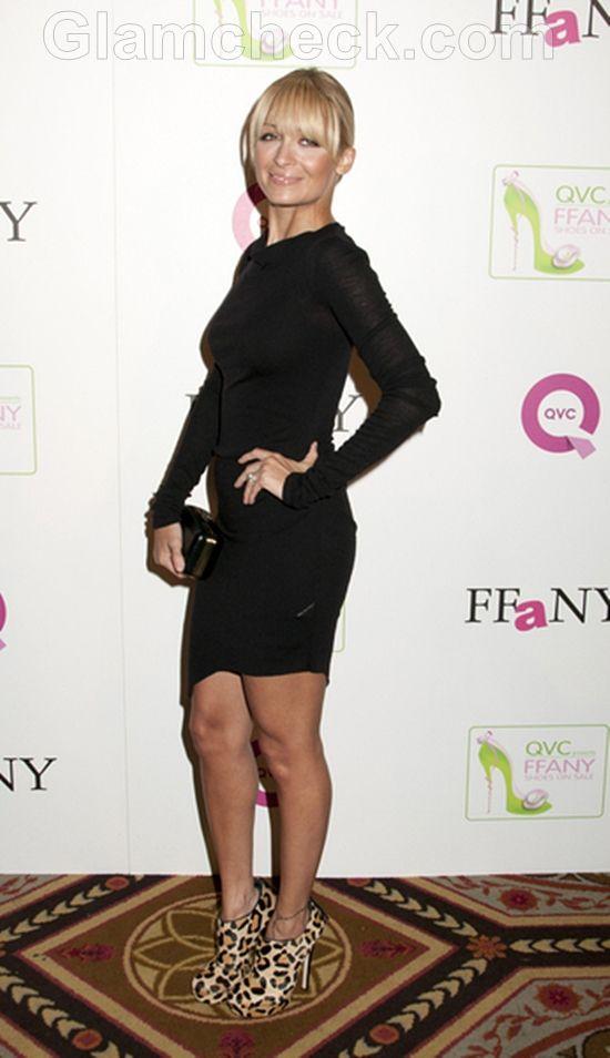 Nicole Richie Looks Cute In A Little Black Dress Little Black