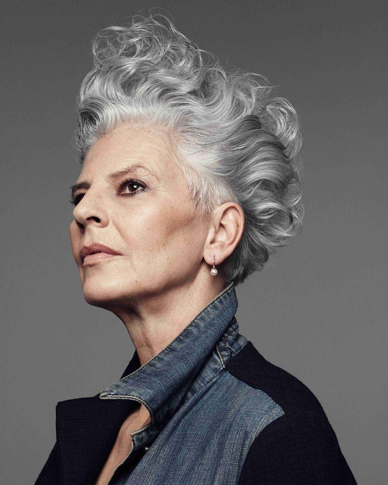 Beauty-Statement: Graue Haare muss man nicht überfärben ...