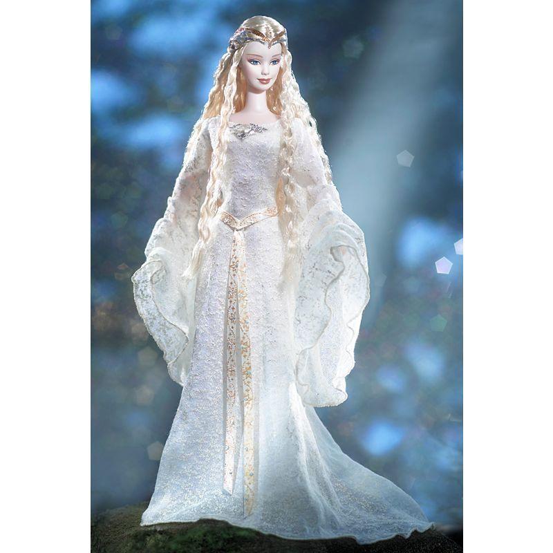 Barbie Lord Of Rings Galadriel 2004 Mattel H1179 - Unopened In 2019 Doll