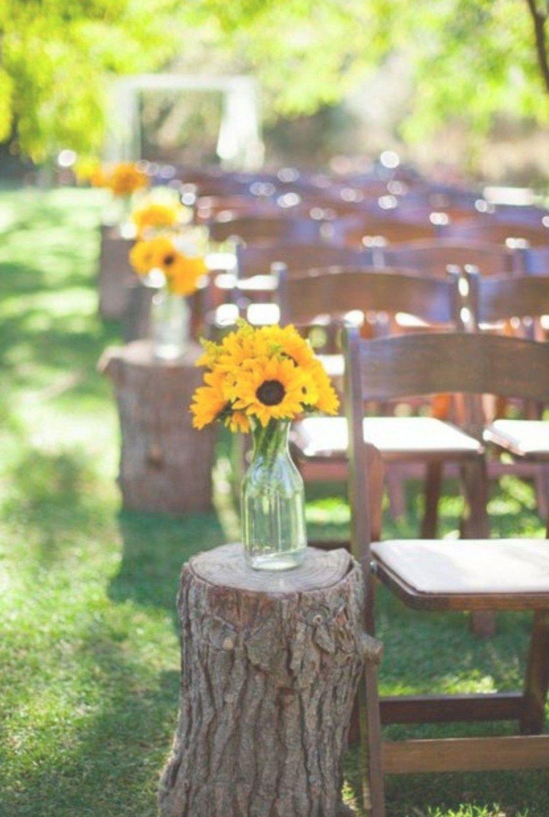 Budget Friendly Outdoor Wedding Ideas For Fall 6 Diy Outdoor