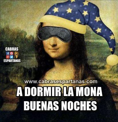 Dormir Mona Buenas Noches A Todos Imagenes Con Frases De Buenas
