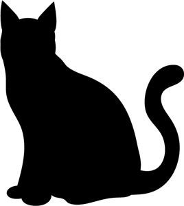 Download Image result for cat silhouette (With images) | Cat silhouette