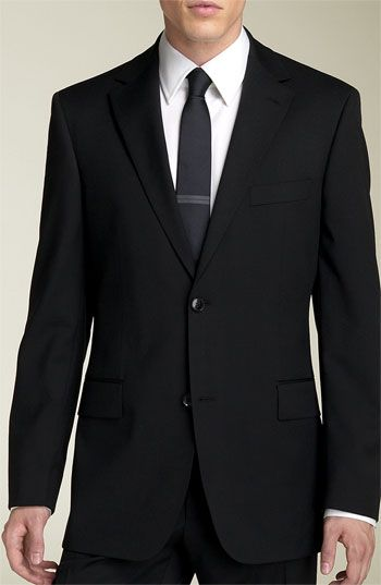 e176a9552 #Nordstromweddings BOSS Black 'Pasolini/Movie' Wool Suit available at  #Nordstrom