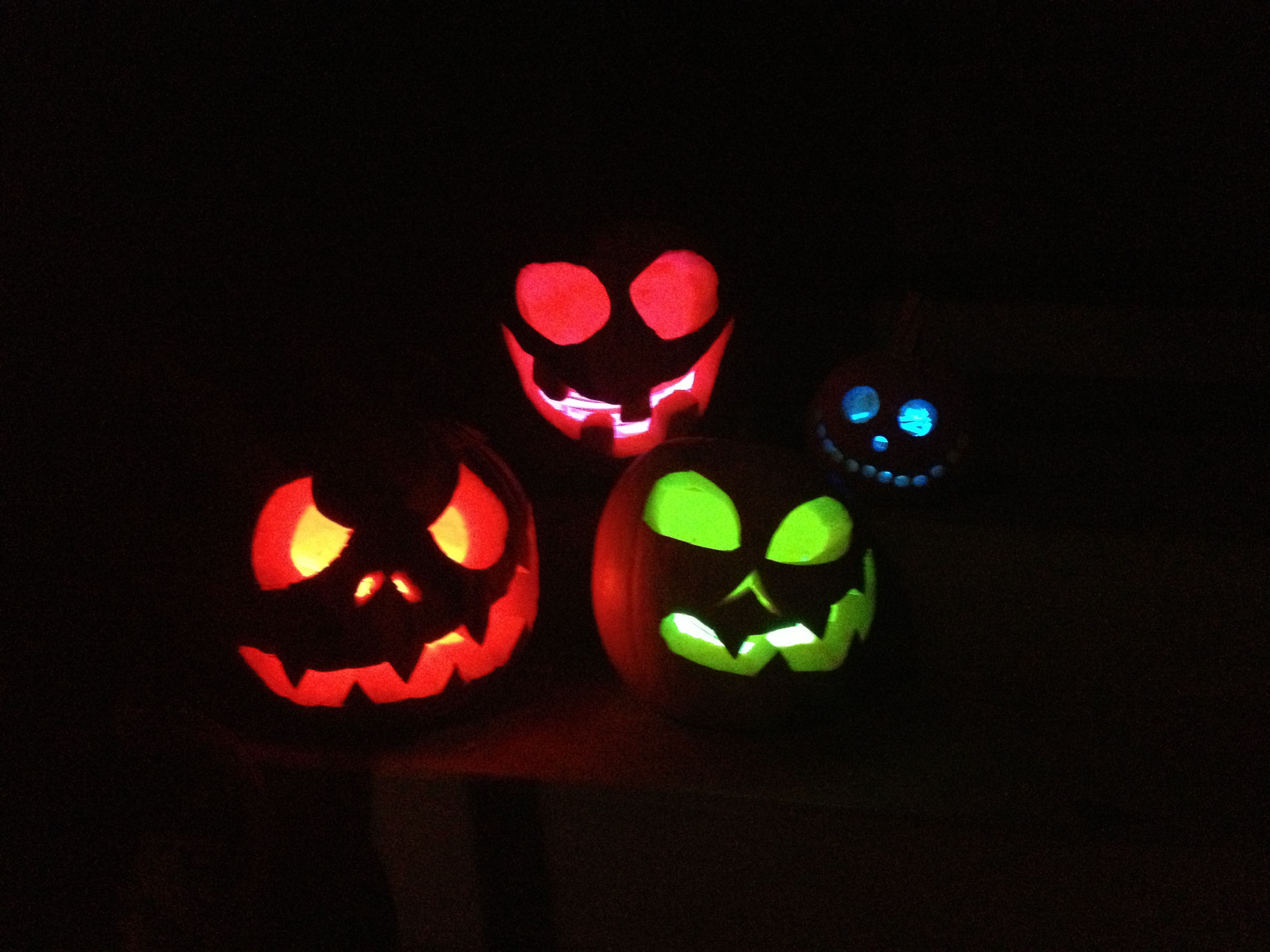 20 easy diy halloween tricks and treats glow sticks halloween