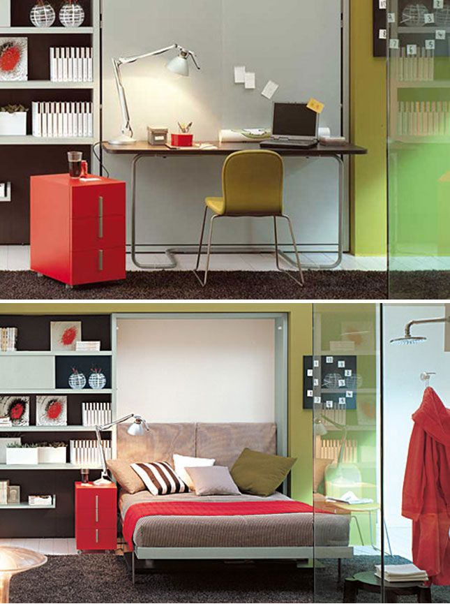 10 Murphy Beds That Maximize Small Spaces Murphy Bed Murphy Bed