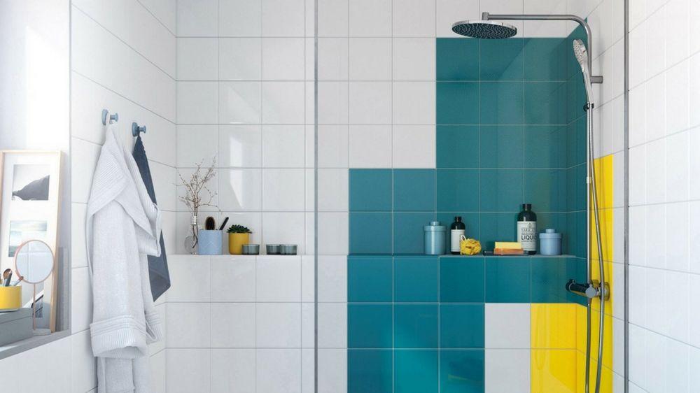 Comment recouvrir le carrelage d 39 une salle de bains Peindre du carrelage de salle de bain