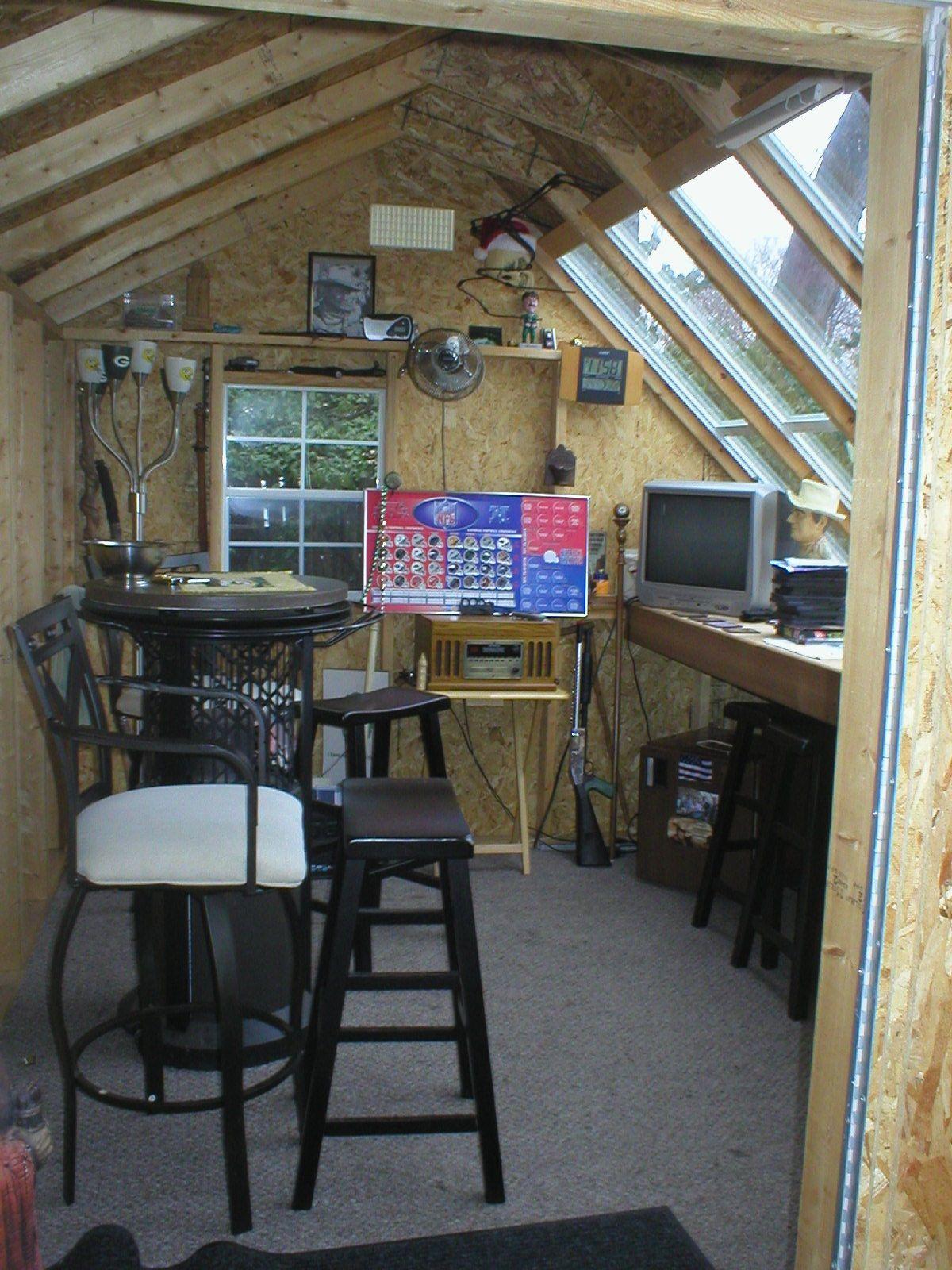 Aurora Garage Mancave Shed Storage Greenhouse Shed