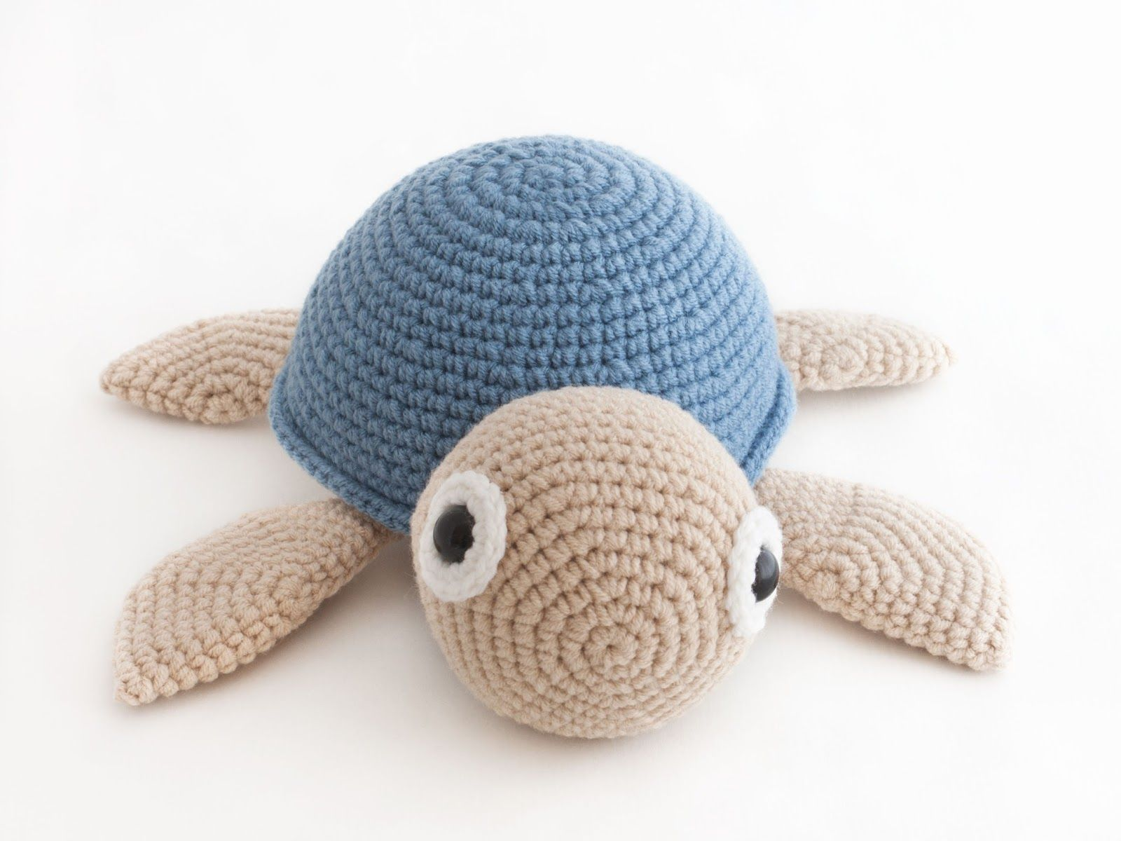 Amigurumi tortuga (enlace a patron gratis) | Doaa | Pinterest ...