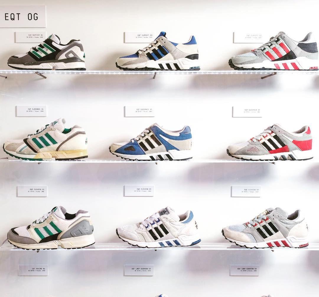 Adidas Eqt Adv History