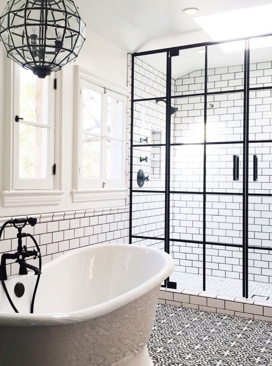 restoration hardware  bathroom interior design  life style  design firm   white bathroom. How to Create a Stylish Universal Design For Your Bathroom