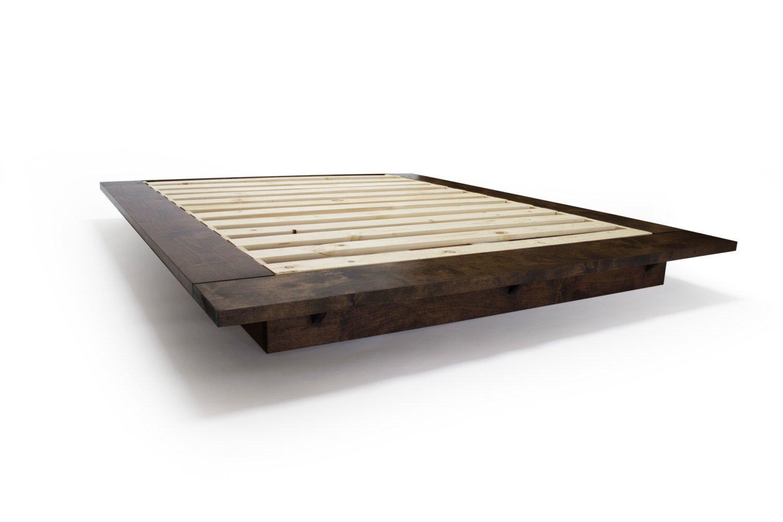 Floating Beds Modern Floating Platform Bed Framepereidarice On Etsy Https
