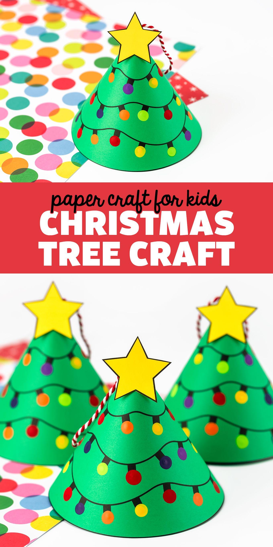 Christmas Tree Craft For Kids Christmas Tree Crafts Preschool Christmas Crafts Preschool Christmas