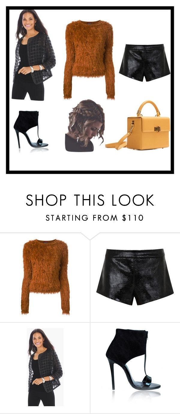 """""""modern black"""" by insoninees ❤ liked on Polyvore featuring Kenzo, Mason by Michelle Mason, Chico's, Hédara and modern"""