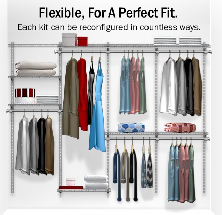 Rubbermaid Closet Config 1 Good Discussion Of Pros Cons To Reread About Height Of Bars Rubbermaid Closet Organizer Rubbermaid Closet Rubbermaid