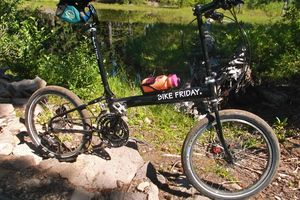 Bike Friday Pocket Llama Mountain Bike Style Folding Bike For
