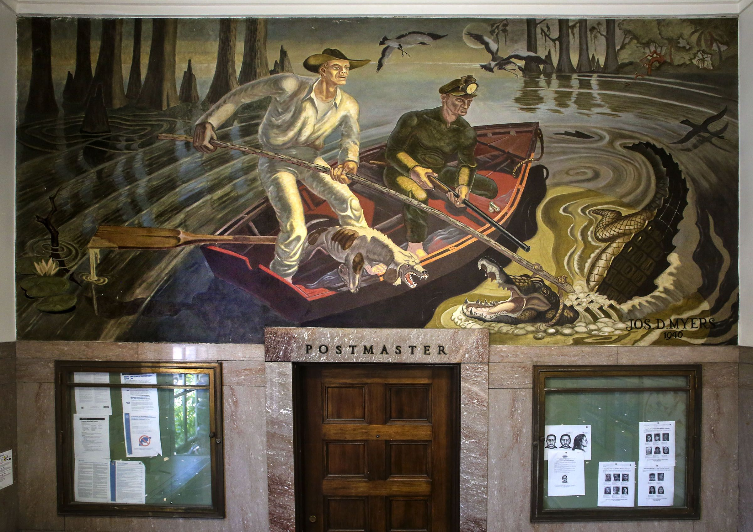 mural, lake worth post office - Google Search