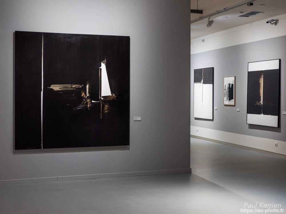 """visite de la superbe expo.  """"André Marfaing peintures - lavis"""" au Musée des Beaux-Arts  - à Quimper  - 27 novembre 2017    © Paul Kerrien 2017 https://en-photo.frFinistère Bretagne"""
