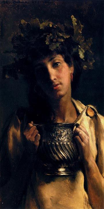 Sir Lawrence Alma-Tadema -Bacchus