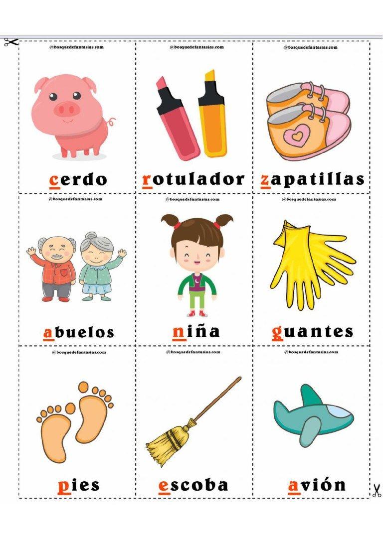 Loteria De Las Palabras Imagenes Educativas Early Childhood Classrooms Early Childhood Kids