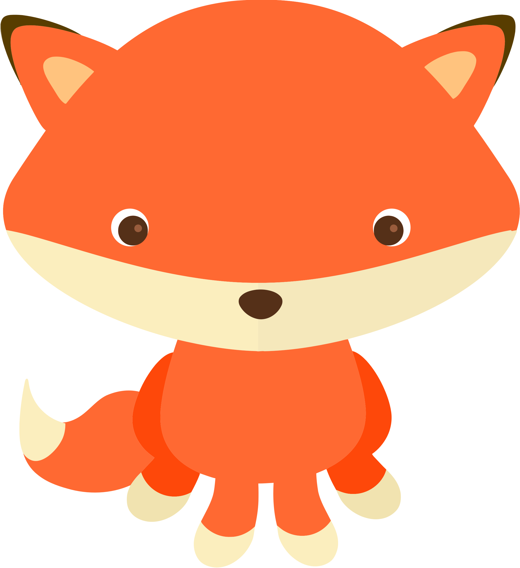 fox by @KBJ-77, I cute little fox I made for a Clipart set ...