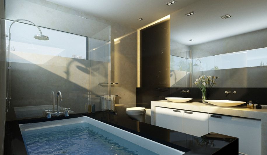 Most Beautiful Bathrooms For Your House Cool Bathroom Design Cabin Home Interior Ideas