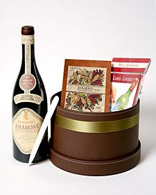This special wine-label keepsake kit allows your family and friends to easily collect labels from their favorite bottles of wine and preserve them in a beautiful notebook.    Tools and Materials  Wine bottle with label  Basket of your choice  Clean cloth  Label savers  Notebook  Bone folder (optional)