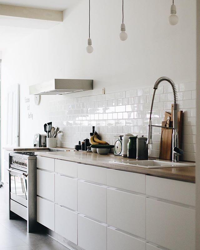 Weiße Küche ohne Griffe   Küche in 2018   Pinterest   Haus, Haus ...