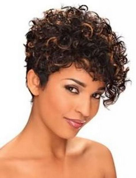 Very short curly hairstyles … | Haircuts | Pinte…