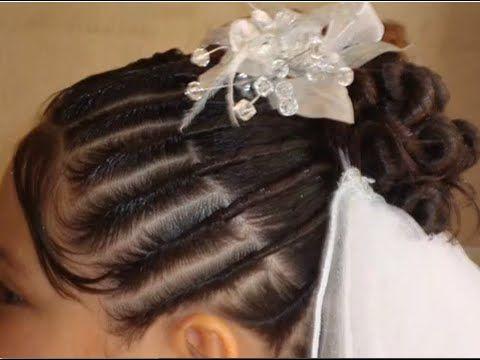Peinados para comunion videos