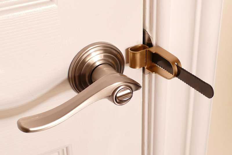 How To Stop Burglars From Opening Your Hotel Room Door Door Locks Doors Hotel Safety