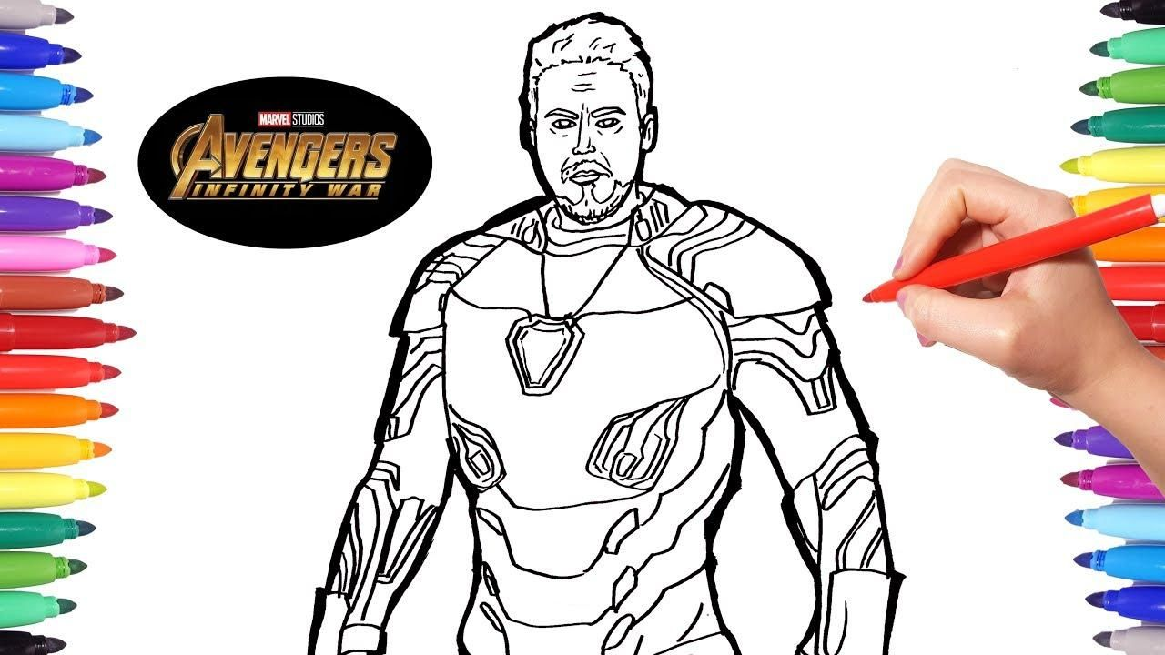 42 Free Coloring Pages Avengers Infinity War In 2020 Avengers Coloring Pages Avengers Coloring Iron Man Drawing Easy
