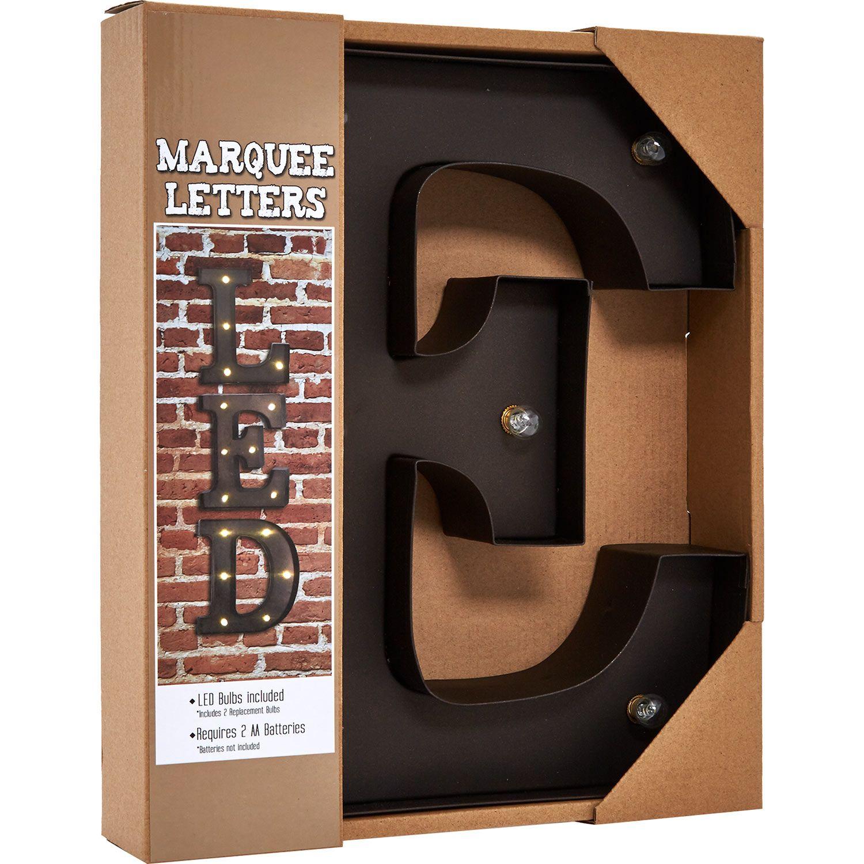 E LED Marquee Letter - TK Maxx