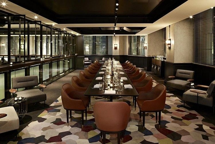 Luxurious Hotel Interior Design With Different Ideas Executive Dining Room Finished Best