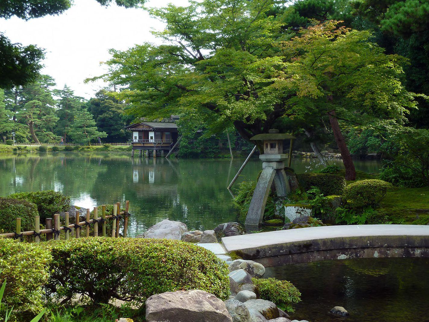 Image result for Kenrokuen, Kanazawa, Japan