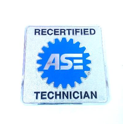 Ase Recertified Technician Medallion Magnet Toolbox Hot Rod Car Mechanic Shop Car Mechanic Mechanic Shop Technician