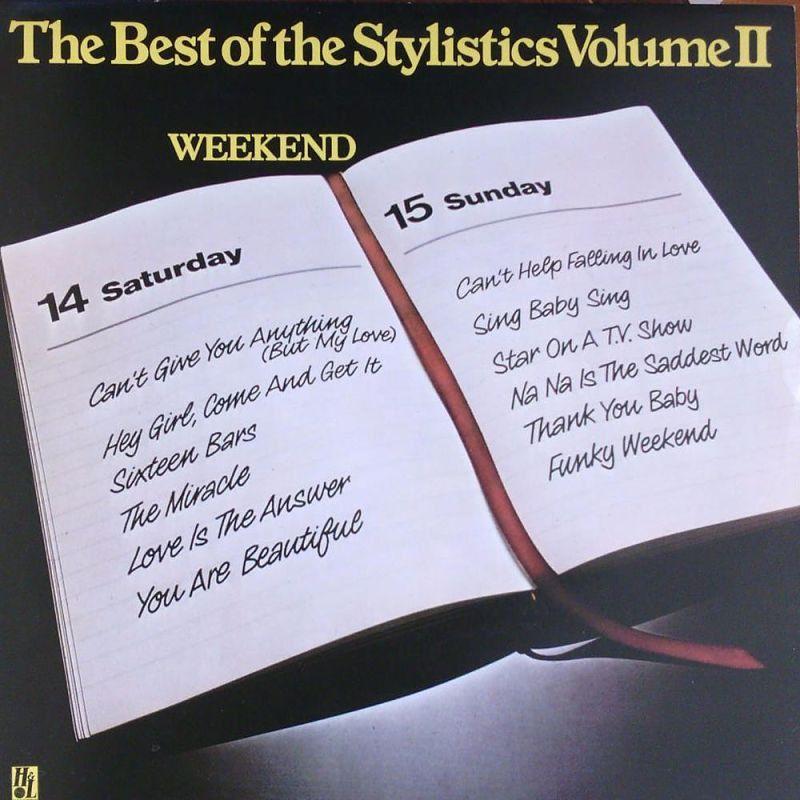 THE STYLISTICS - Stylistics 2 (Avco 6466 010) Vinyl   Music