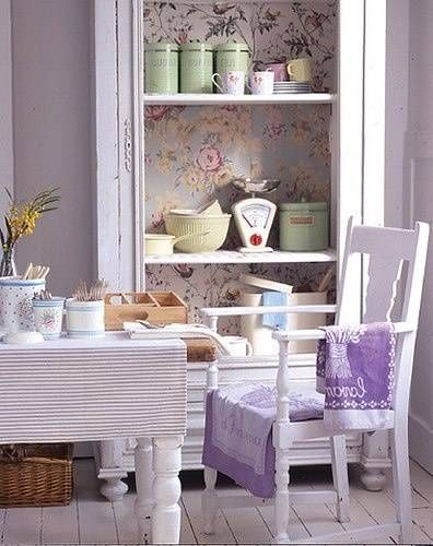 sedia-color-lavanda | Sweet lavender cottage | Cucina lavanda, Color ...