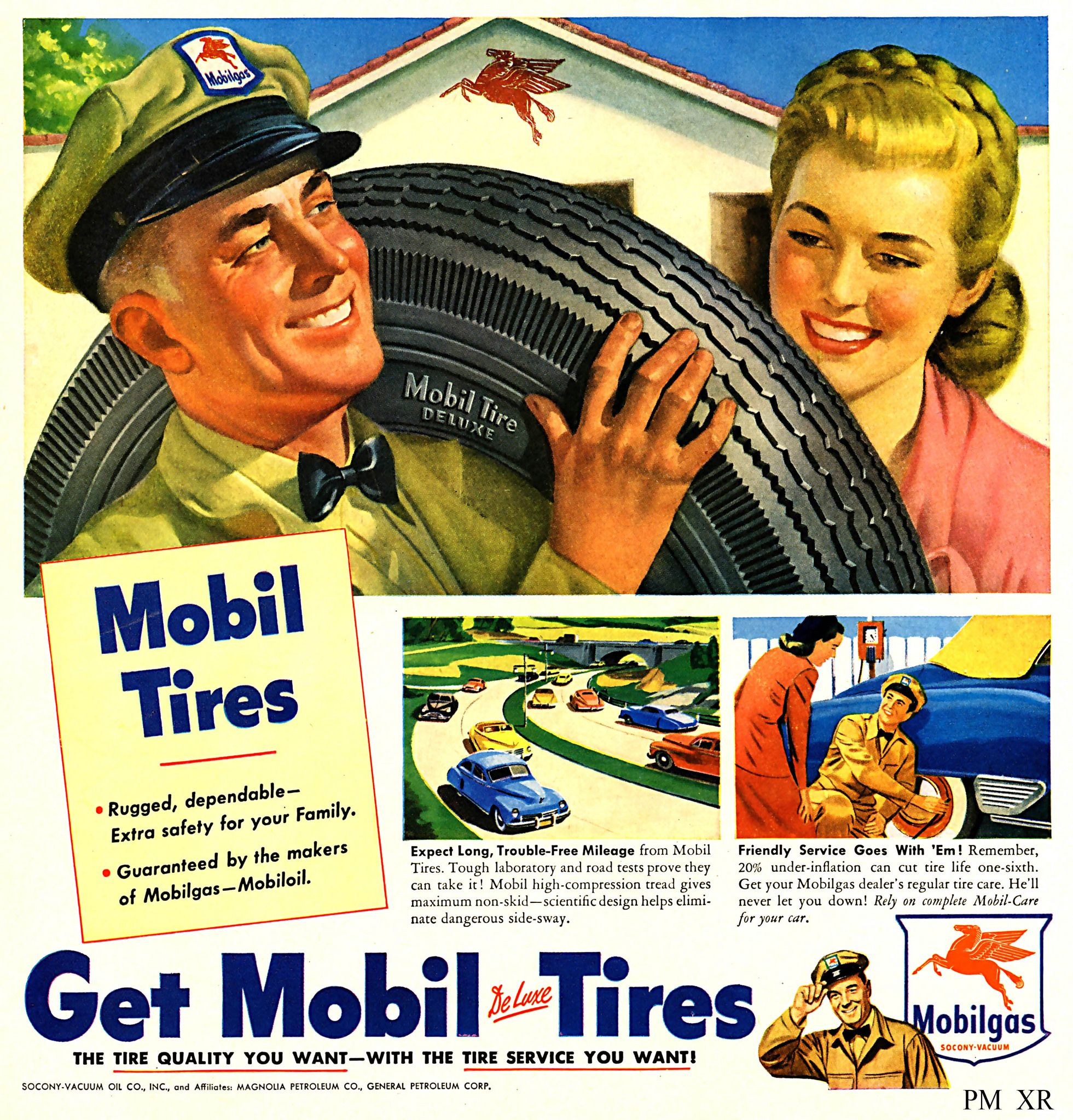 https://flic.kr/p/R7QCjA | 1948 ... tires r mobil!