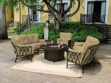 Shop For Prestige Veranda Crescent Deep Seating 4341t Set And