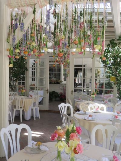 romantic garden themed bridal shower idea see more bridal shower themes and party ideas at wwwone stop party ideascom