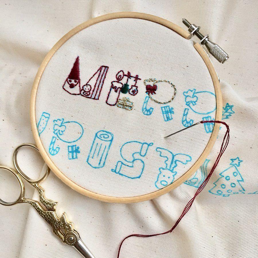 フェルト 文字 縫い 方