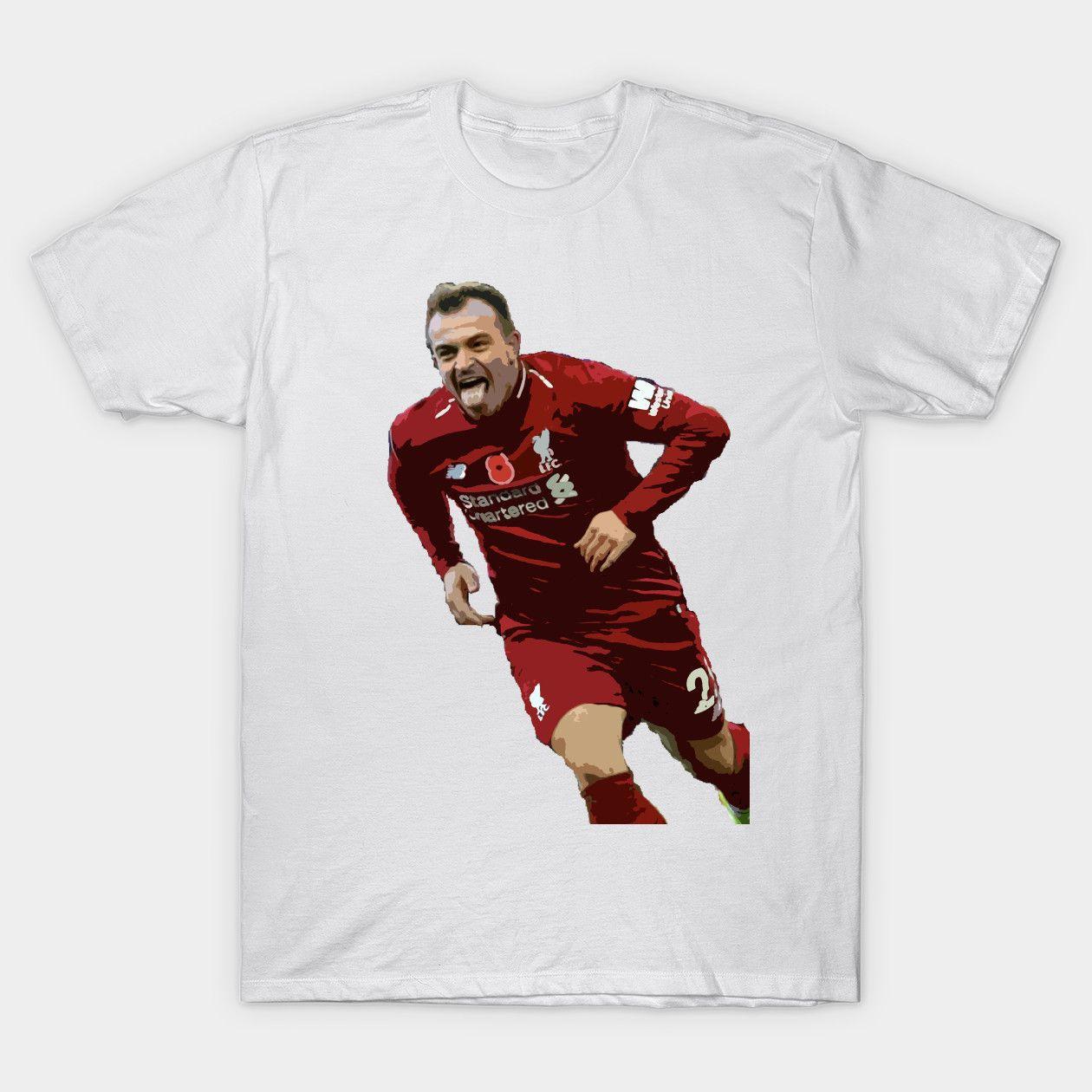 Xherdan Shaqiri Lfc Shaqiri Liverpool Classic T Shirt Classic T Shirts T Shirt Mens Tshirts