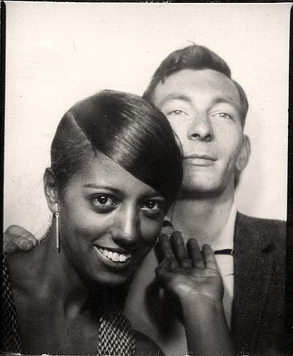 1960's photo booth... Still tricky in those times, so well done on not giving a shit