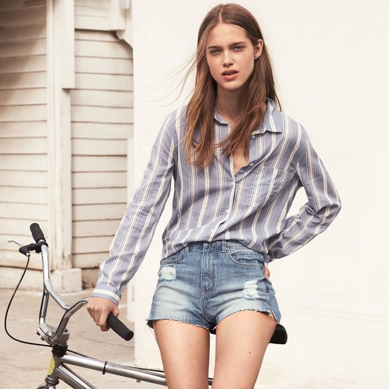 H&M's New Arrivals Embrace Laid-Back, California Cool | High waist ...