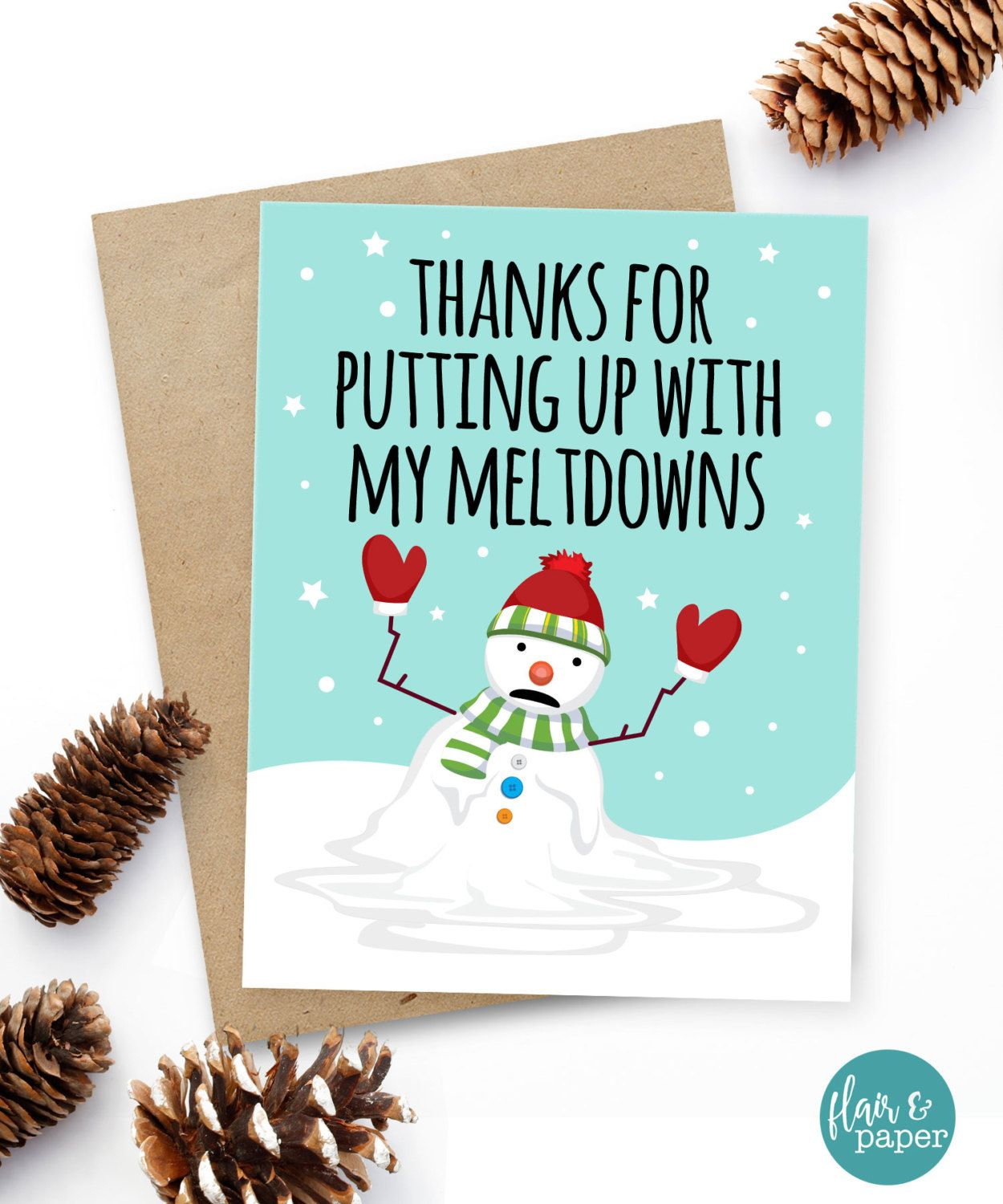 Funny christmas card christmas card xmas card quirky snarky funny christmas card christmas card xmas card quirky snarky greeting card snowman kristyandbryce Image collections