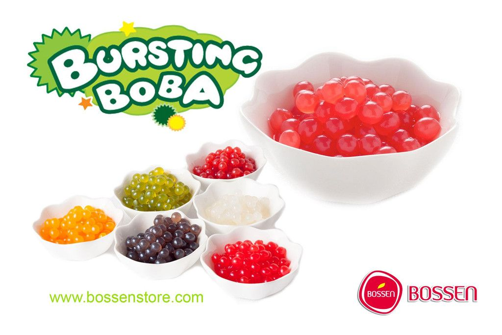 Bursting Boba Mini Fun Party Packs Yogurt Toppings Bubble Tea Frozen Yogurt