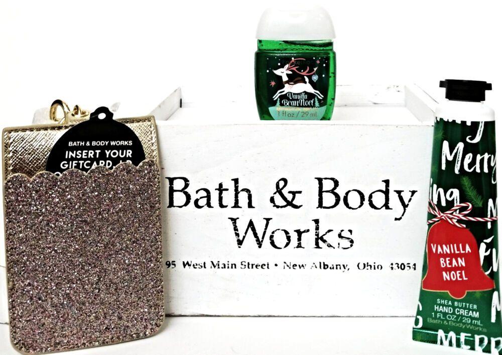 Bath And Body Works Vanilla Bean Noel Hand Cream Pocketbac
