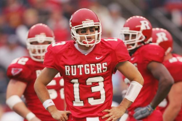Rutgers Top 10 Div 1 Qbs Ever Rutgers Football Rutgers Football