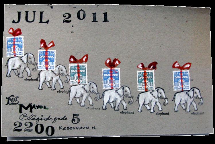 Mail Art — Portfolie Nicole Jul Nielsen; http://nicolejulnielsen.dk/mail-art-page/
